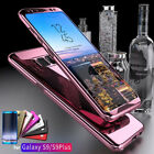 360 Protection Luxury Hard Mirror Phone Case Cover For Samsung Galaxy S8 S9 Plus