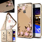 Protective Slim Crystal Bling Stones TPU Diamante Cover Case For iPhone X,7 Plus