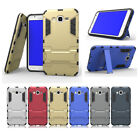 For Samsung Galaxy J7 Neo / J7 Core 2017 Hybrid Shockproof Case Kickstand Cover