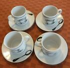 Pre-owned Riviera Van Beer by Signature coffee cup set of 4, made in Tailand