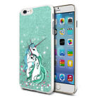 Unicorn Glitter Design Phone Hard Case Cover Skin For Various Mobiles 03