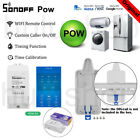 Sonoff POW R2 Real Time Energy Monitoring Consumption  Timing Remote Control HH