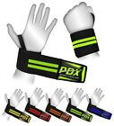 """PDX Power Weight Lifting Wrist Wraps Supports Gym Training Fist Straps 19"""""""