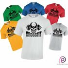 Gym Crossfit Mens Top Training Weight Body building Sport Wear Workout T-Shirt