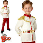 Prince Charming Boys Fancy Dress Disney Cinderella Book Day Childs Kids Costume