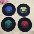 NEW Retro Vinyl Record CD Coaster Table Coffee Drink Cup Mat