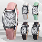 Fashion OKTIME Casual Chic Retangle Women's Leather Band Analog Quartz New Watch