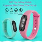 Mini pedometer smart Wristband Fitness Sports Activity Tracker Bracelet lot