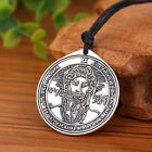 Vintage Talisman The First Pentacle of the Sun Seal of Solomon Pendant Necklace