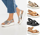 Womens Timberland Sandals Los Angeles Wind Leather Sandals Slingback Sandals NEW