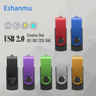 thumb drive 4gb - 8GB 4GB Swivel Metal Flash Memory Stick Pen Drive Storage Thumb U Disk USB 2.0