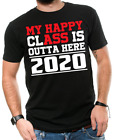 My Happy clAss is Outta Here Class of 2019 Graduation T-Shirts Funny Ass T shirt