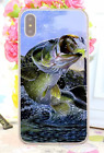 Bass Fishing Baits Lures Hook Tackle Spinning Rods Hard Cover Case For iPhone 1