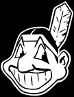 CLEVELAND INDIANS CHIEF WAHOO  LOGO CAR DECAL VINYL STICKER WHITE 3 SIZES on Ebay