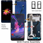 NY For ZTE BLADE Z MAX Z982 METROPCS LCD Display Touch Screen Digitizer +Frame
