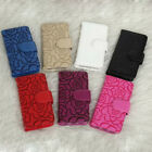 Retro Pattern Leather Flip Wallet Phone Case Cover for iPhone6 6s Plus Samsung L