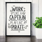 100 Motivational / Inspirational / Funny Typography Quote Posters Prints A4 A3