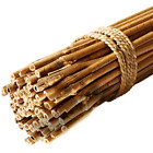 GroundMaster Garden Bamboo Canes Quality Strong Sturdy Plant Support Poles