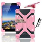 "Shockproof Silicone Stand Cover Case For Various 7"" 8"" HP Tablet + Stylus"
