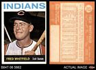 1964 Topps #367 Fred Whitfield Indians EX