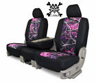 Custom Fit Seat Cover for GMC 3500 In Moon Shine Camo Front & Rear