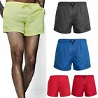 Mens Mesh Lined Swimming  Boys Plain Gym Running Summer Sports Beach Shorts