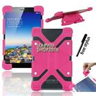 Shockproof Silicone Stand Cover Case For Visual Land Prestige Tablet + Stylus