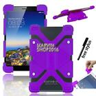 "Universal Shockproof Silicone Stand Cover Case For Various 7"" 8"" Tablet + Stylus"