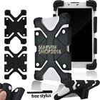 """For Various 7"""" 8"""" Tablet Shockproof Silicone Stand Cover Case + Stylus"""