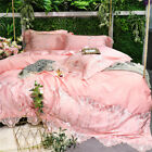 Limited edition bedding set Pure cotton soft quilt cover sheets pillowcases lace