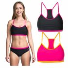 Trespass Ziena Womens Bikini Crop Top Available Pink Black
