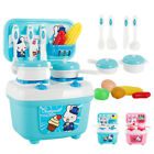 Kitchen Cooking Simulation Model Happy Kitchen Pretend Play Toys Sets For Kid