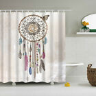 Butterfly Dreamcatcher Polyester Waterproof Bathroom Fabric Shower Curtain