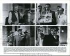 1991 Press Photo Terry O'Quinn and Timothy Dalton in The Rocketeer. - cvp86649