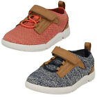 Childrens Clarks Tri Move Hook & Loop Strap Casual First Trainers