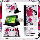 "For Various 10"" Acer Iconia Tab Tablet - FOLIO LEATHER STAND CASE COVER + Stylus"
