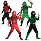 Ninja Costume Kids Ninjago Halloween Fancy Dress