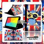 """For Various 8"""" 10"""" LG G Pad Tablet - FOLIO LEATHER STAND CASE COVER + Stylus"""