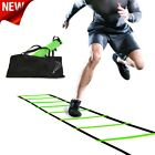 Agility Ladder Fitness Fully Customizable Speed 15 Feet Adjustable Rung Spacing