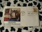 First Liberty Bell Shrine first day cover for Scott #1618 the 13c issue canel