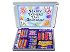 Personalised HAPPY FATHERS DAY GRANDAD Gift Hampers Chocolate or Retro Sweets