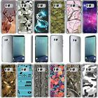 For Samsung Galaxy Note 8 SM-N950 Slim Fit Durable Clear TPU Case - Camouflage