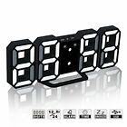 Big Digital Clock Wall Mount Large Numbers LED Display Day Electronic Alarm