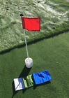 Putting Green Cup w/ Flag and Pole! DIY Home Golf Supplies. Installs In-Ground!