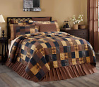 PATRIOTIC PATCH QUILT SET-choose size & accessories-Americana Rustic VHC Brands image
