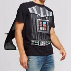 Star Wars Mens Darth Vader T Shirt With Cape Black Adult Multiple Sizes S-2XL $10.99 USD on eBay