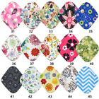 Reusable Bamboo Charcoal Flared Shape Heavy Flow Cloth Menstrual Sanitary Pad UK