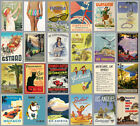 Vintage Travel Tourism Railway  Advertising Posters Prints Poster  A4 A3
