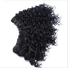 short curly weave - 1Bundle Short  Natural Curly Weave Weft Synthetic Hair Extension For Black Women