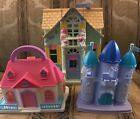 COOL! Fisher Priice cottage with smaller house & castle play